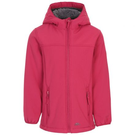 Kristen Girl's Long Length Waterproof Softshell Jacket  - BER