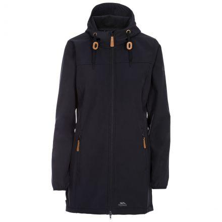 Kristy Women's Long Hooded Softshell Jacket