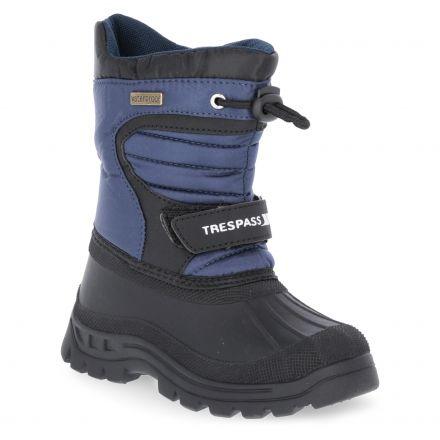 Kukun Kids' Waterproof Snow Boots