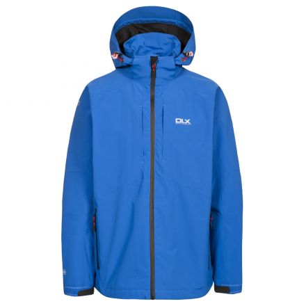 DLX Mens Waterproof Jacket High Performance Kumar Electric Blue
