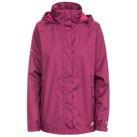Lanna II Women's Waterproof Jacket in Burgundy