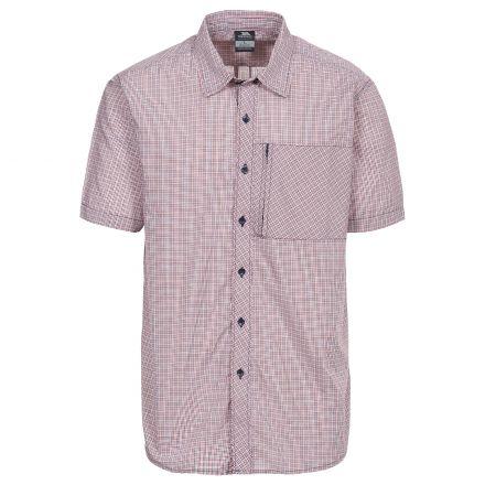 Lansing Men's Short Sleeve Checked Shirt