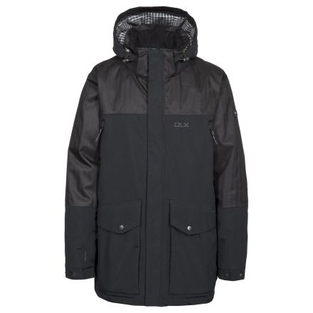 Larken Mens DLX Waterproof Jacket in Black