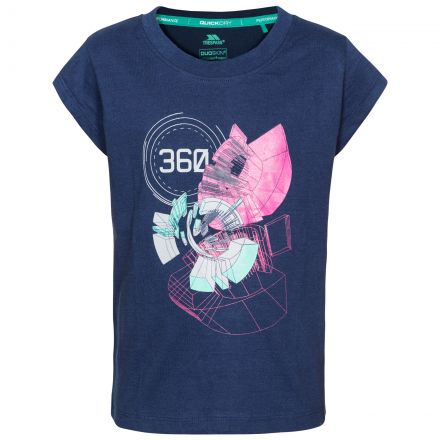 Leia Kids' Printed T-Shirt in Navy