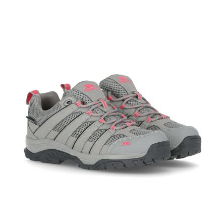 Leka Women's Waterproof Walking Shoes in Grey