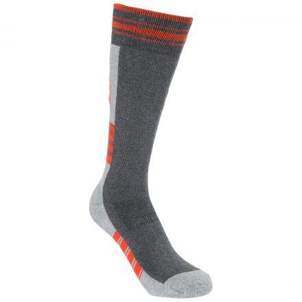 Lizuna Kids' Thermal Ski Socks in Grey