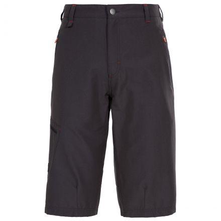 Locate Men's Longer Length Walking Shorts in Khaki