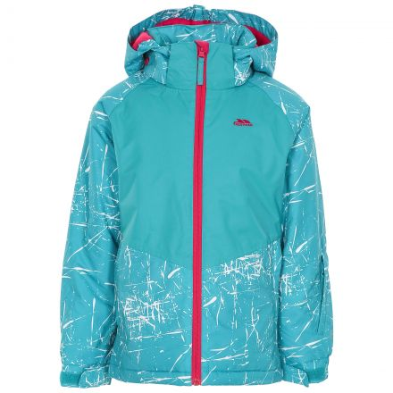 Lottar Kids' Ski Jacket in Green