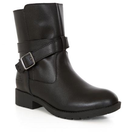 Louiza Girls' Leather School Shoes