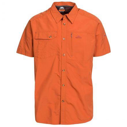 Lowrel Men's Mosquito Repellent Short Sleeve Shirt