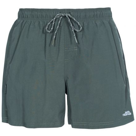 Luena Men's Casual Swim Shorts in Khaki
