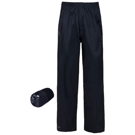 Packa Adults' Packaway Waterproof Trousers in Navy