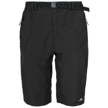 Lomas Mens Black Active Shorts in Black