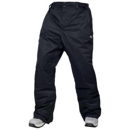 Glasto Men's Black Ski Pants in Black