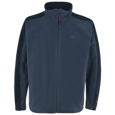 Acres Men's Fleece Jacket in Navy