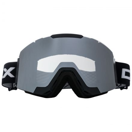 Magnetic DLX Changeable Lens Ski Goggles in Black