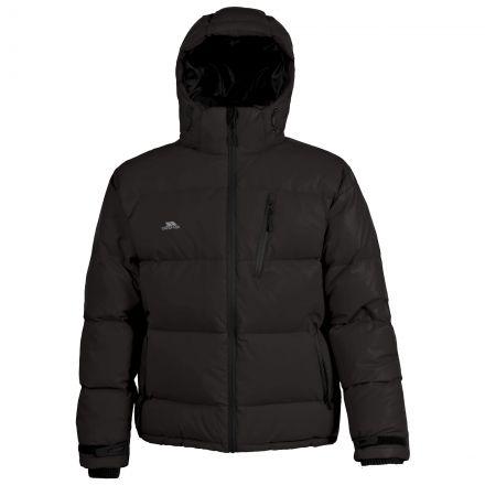 Igloo Men's Hooded Down Jacket in Black