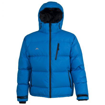 Igloo Men's Hooded Down Jacket in Blue