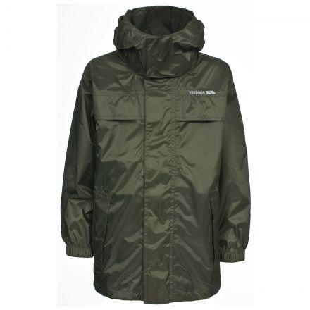 Packa Adults' Waterproof Packaway Jacket in Green