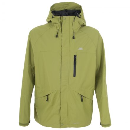 Corvo Men's Waterproof Windproof Jacket in Green
