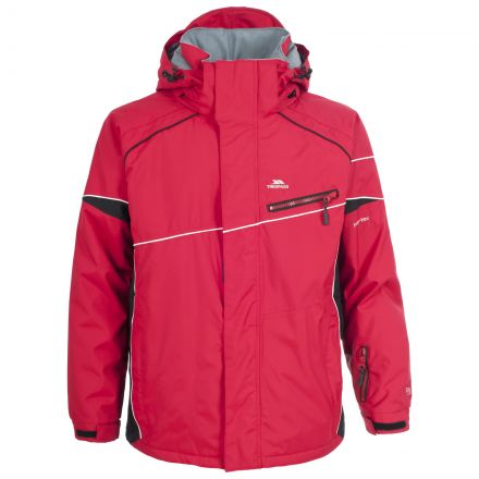 Wade Mens Ski Jacket in Red