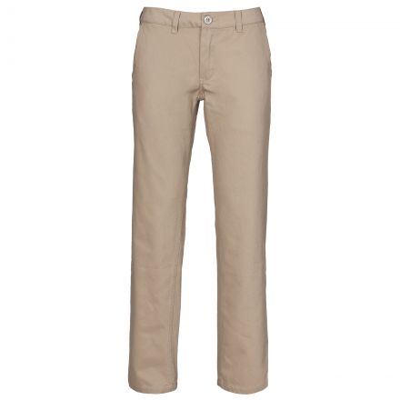 Makena Women's Casual Chino Trousers in Beige