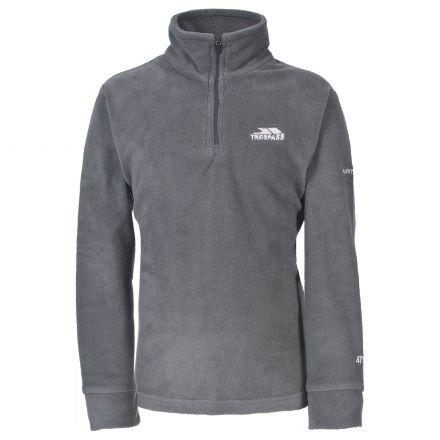 Masonville Kids' Half Zip Fleece in Grey