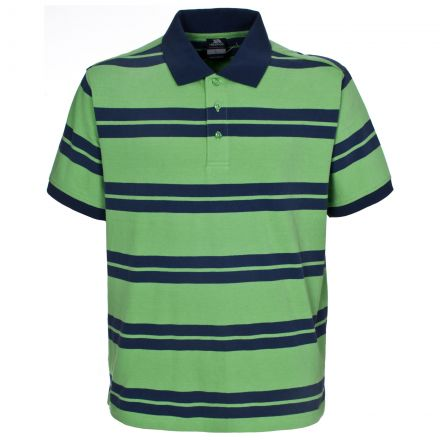 Atlantika Men's Striped Polo Shirt
