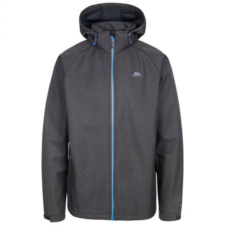 Maverick Men's Water Resistant Softshell Jacket in Black