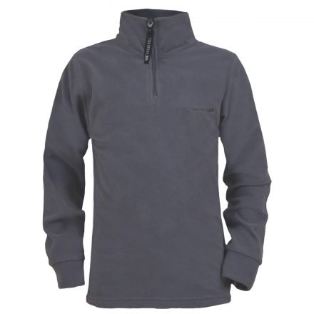 Lap Boys Half Zip Microfleece in Grey