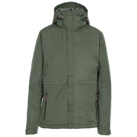 Mendell Women's DLX Padded Waterproof Jacket in Green