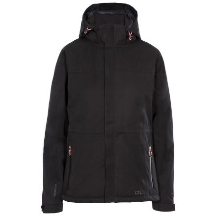 Mendell Women's DLX Padded Waterproof Jacket in Black