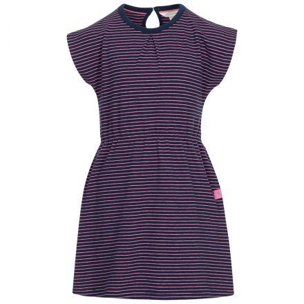 Trespass Kids Short Sleeved Dress Round Neck Mesmerised in Navy