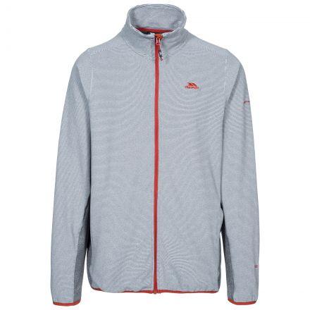 Mirth Men's Fleece Jacket in Grey