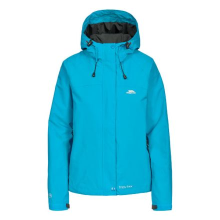 Miyake Women's Hooded Waterproof Jacket in Blue