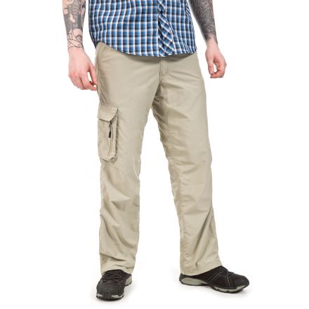 Baslow Men's Cargo Trousers  in Beige