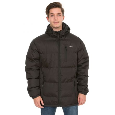Clip Men's Hooded Padded Casual Jacket