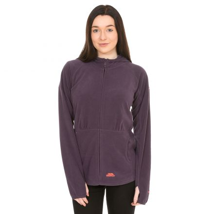 Marathon Womens Anti Pilling Microfleece Hoodie