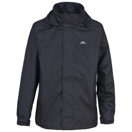 Nabro Boys' Waterproof Jacket in Black
