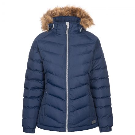 Trespass Womens Padded Jacket Nadina - NA1, Front view on mannequin
