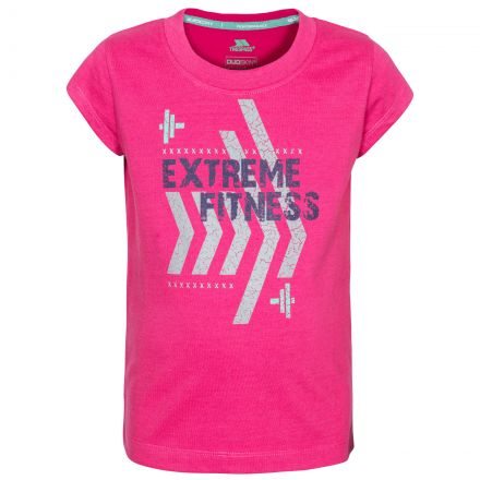 Naja Kids' Printed T-Shirt in Pink