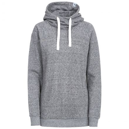 Nancy Women's Pull Over Hoodie in Grey