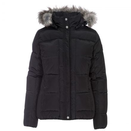 Nanette Women's Padded Jacket in Black
