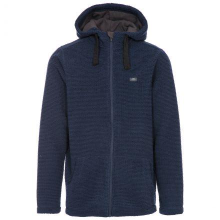 Napperton Men's Hooded Fleece Jacket in Navy