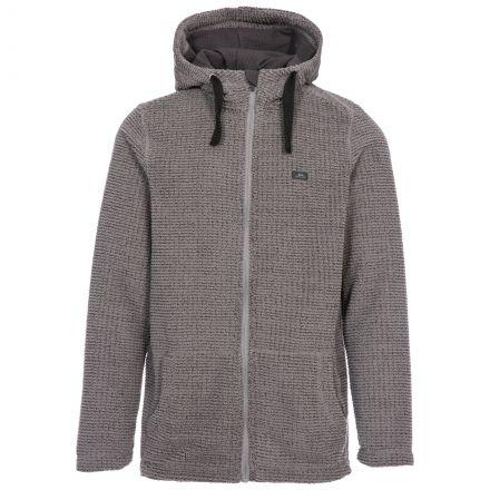 Napperton Men's Hooded Fleece Jacket in Grey