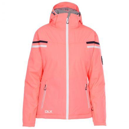 DLX Womens Waterproof Ski Jacket Recco Natasha in Peach