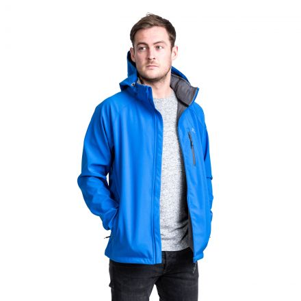Nider Men's Hooded Softshell Jacket