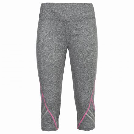 Nimbo Womens Running Leggings in Grey