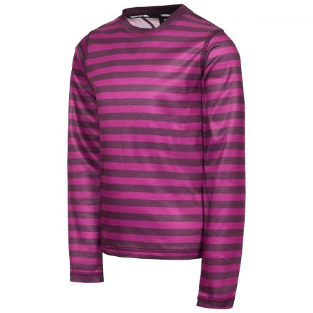 Oaf Kids Base Layer Top in Purple