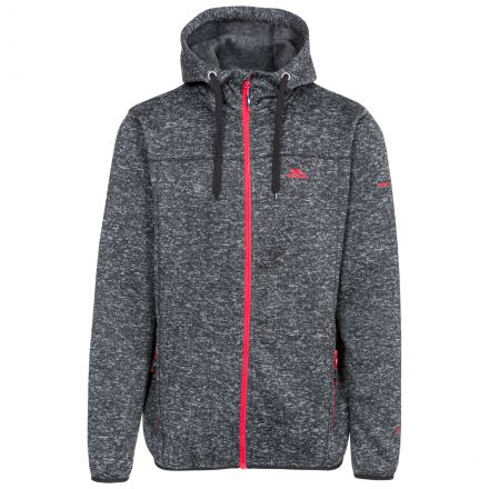 Odeno Men's Fleece Hoodie in Black